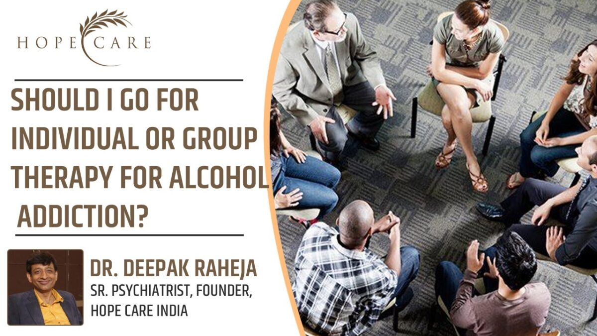 Therapy for alcohol addiction